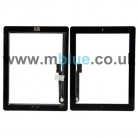 iPad 3 Digitizer Glass Black