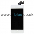 Apple OEM iPhone 5 LCD Screen and Digitizer Assembly with Frame and Home Button - White