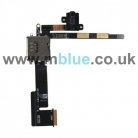 Audio Headphone Jack Flex Cable for Apple iPad 2 Wi-Fi + 3G