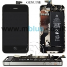 BLACK COMPLETE TOUCH LCD SCREEN CHASSIS PARTS BATTERY CAMERA FOR APPLE IPHONE 4