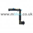 Charging Port Dock Connector Flex Cable Replacement for Apple iPad Air 5 Black