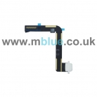 Charging Port Dock Connector Flex Cable Replacement for Apple iPad Air 5 White