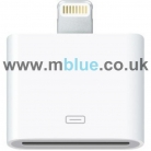 30 Pin to 8 Pin Data Sync Adapter Converter for iPhone 5 iPod Touch 5 Nano 7