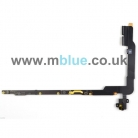 Headphone Jack Audio + PCB Board Flex Cable For Apple iPad 3 4 WiFi Version Only