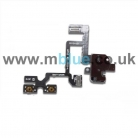 iPhone 4 Audio Headphone Jack Flex Cable Black