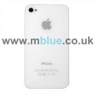 iPhone 4G Back Cover Case White
