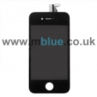 iPhone 4G LCD Replacement Screen and Digitizer Assembly for 4th Gen Black