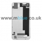 iPhone 4 4G Glass Back Cover Housing Replacement Frame White