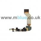 iPhone 4S Dock Connector Port Flex Cable w/ Microphone   White
