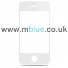 iPhone 4S White Front Replacement Screen Outer Glass Lens
