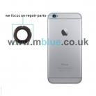 iPhone 6S Rear Camera Holder with Lens - Silver