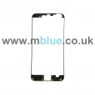 iPhone 6 Plus Front Frame with Hot Glue - Black