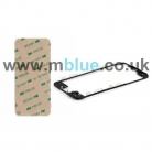 iPhone 5S LCD Frame and Adhesive in Black