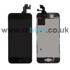iPhone 5C Lcd Screen with touchpad and frame and Small Parts inc Front Camera/Speaker/holder/home button and home flex etc
