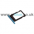 iPhone 5C sim holder blue