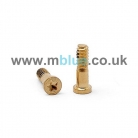 iPhone 6 and iPhone 6 Plus Bottom Screws - Gold