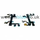 iPhone 5S Replacement Power Volume Mute Switch Button Flex Cable With Flash   Original